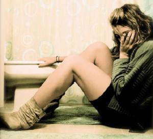 bulimia, mujer bulímica