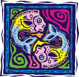 logotipo de piscis