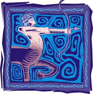 logotipo de sagitario