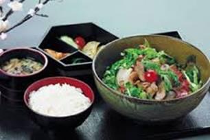 Comidas saludables dieta japonesa