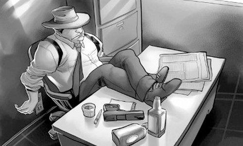 caracteristicas de la novela negra - detective