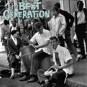 Imagen de un grupo de la Generación Beat