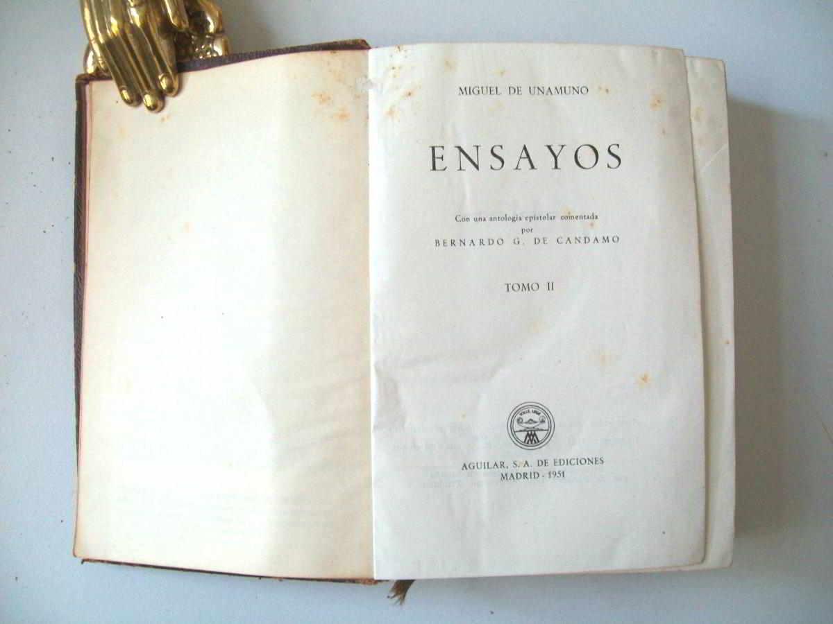 Libro de ensayo