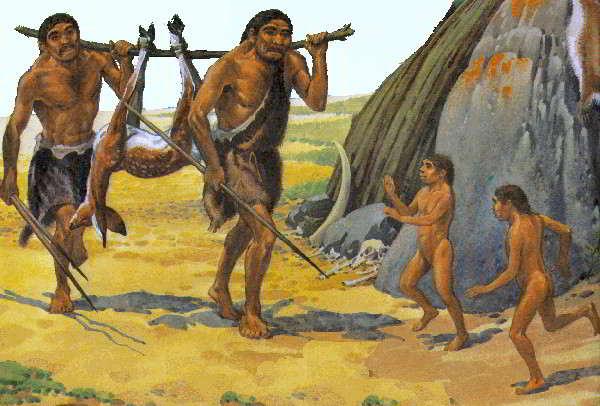 hombre de cromagnon - homo sapiens